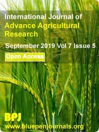 International Journal of Advance Agricultural Research